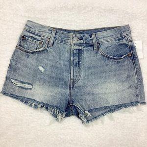 LEVI'S 501 High Rise Shorts